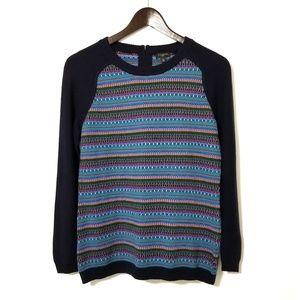 Talbots Lambswool Pattern Sweater Petite NWOT